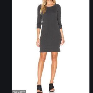 James Perse Dress Raglan Sweatshirt Long Sleeve